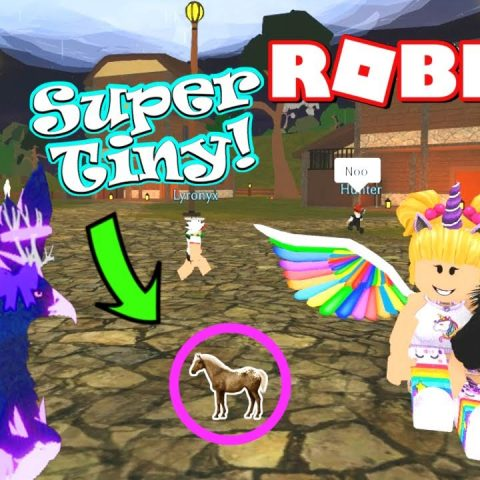 Roblox Horse World New Updates 2019 Roblox Falabella Foal Cool Animal Video