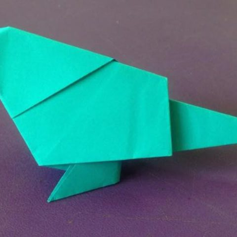 How to make a paper Origami Bird? (easy Simple Life Hack) - YouTube | 480x480